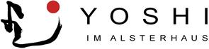YOSHI im Alsterhaus Retina Logo